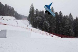 Snowpark Dosson Paganella Ski Skok