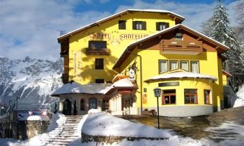 Hotel Santellina – 5denní Lyžařský Balíček Se Skipasem A Dopravou V Ceně***